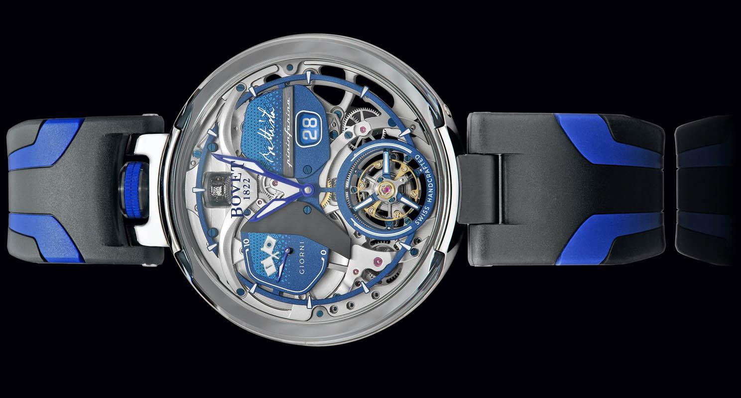 Automobili Pininfarina And BOVET 1822 Present The New Battista Tourbillon Timepiece